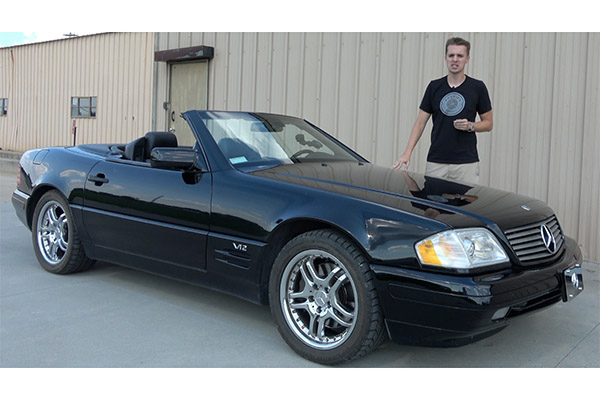 Video | I Bought a Broken V12 Mercedes SL600 for Only $5,000 featured image large thumb1