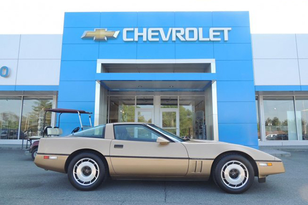 Autotrader Find: 1984 Chevy Corvette With 6,000 Miles featured image large thumb0