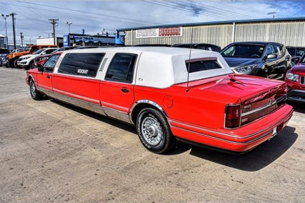 Autotrader Find: Bright Red 1994 Lincoln Town Car Limo featured image large thumb1