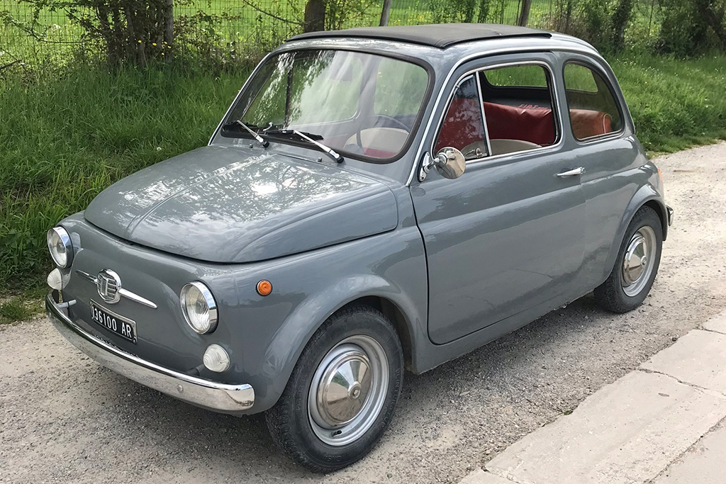 i drove a vintage fiat 500 in italy autotrader. Black Bedroom Furniture Sets. Home Design Ideas