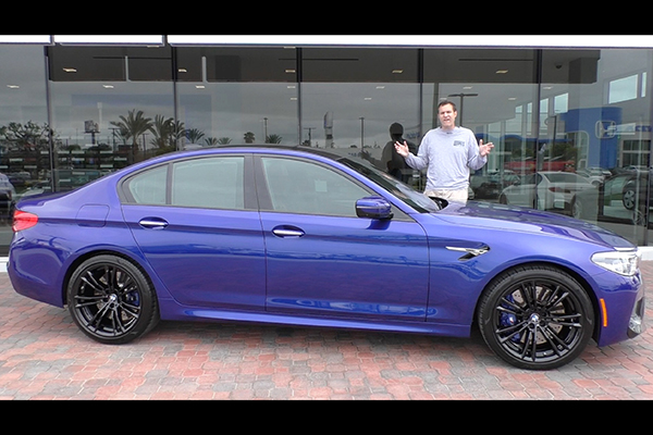 Video | The 2018 BMW M5 Is a $125,000 Super Sedan featured image large thumb1