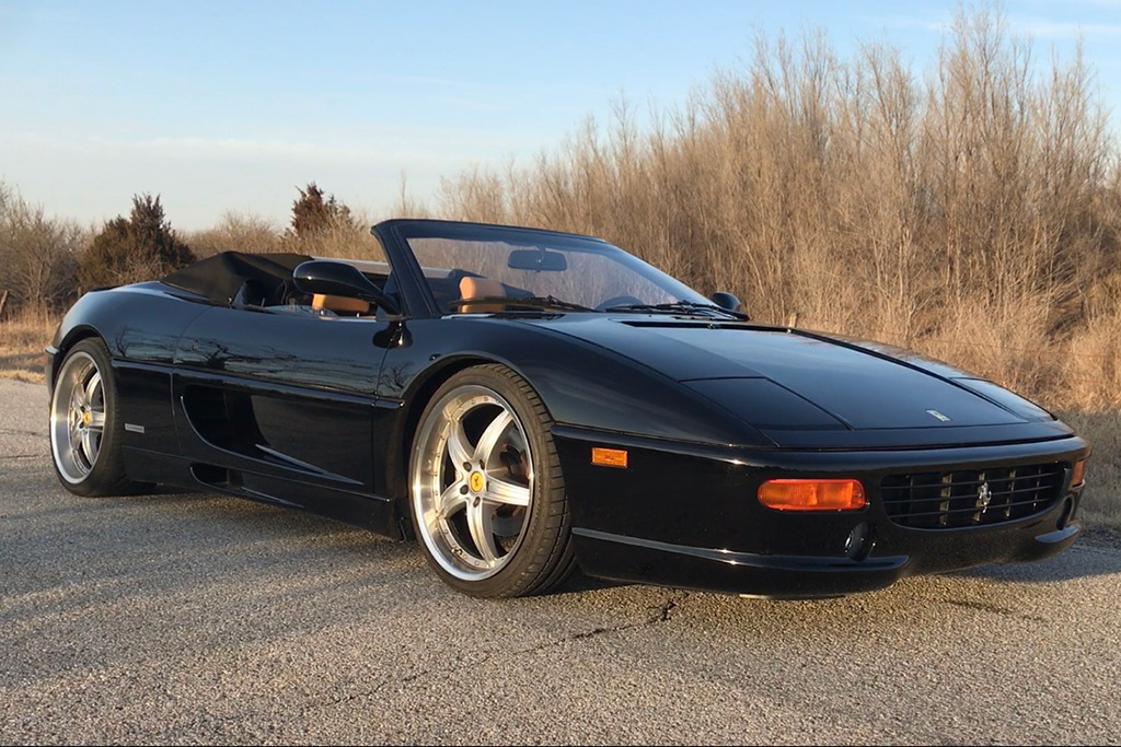 Here's Why a Flat Tire on a Ferrari F355 Is a Nightmare featured image large thumb0