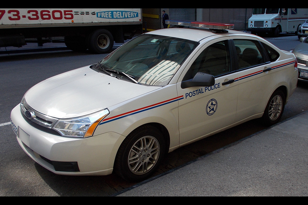I Saw a Hilarious Postal Police Car in New York featured image large thumb0