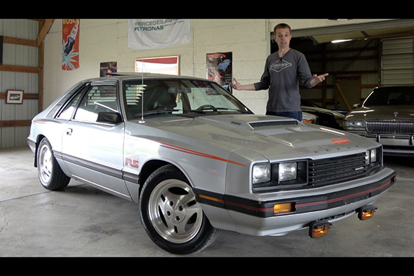 Video | The Mercury Capri RS Turbo Is the Weirdest Fox Body Mustang featured image large thumb1