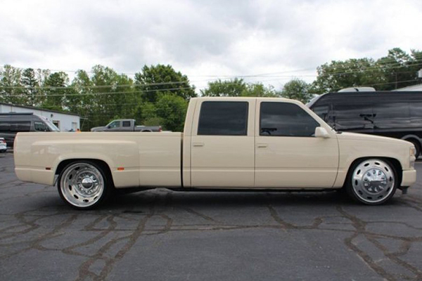 Autotrader Find: 1997 Chevy Silverado 3500 From SEMA featured image large thumb1