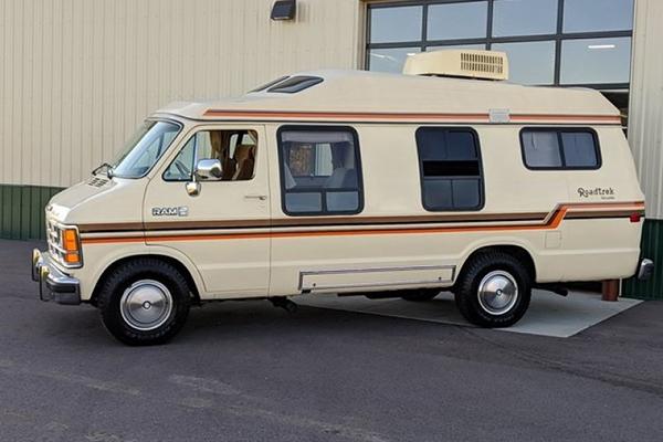 Autotrader Find: Shockingly Nice 1987 Dodge Camper Van featured image large thumb0