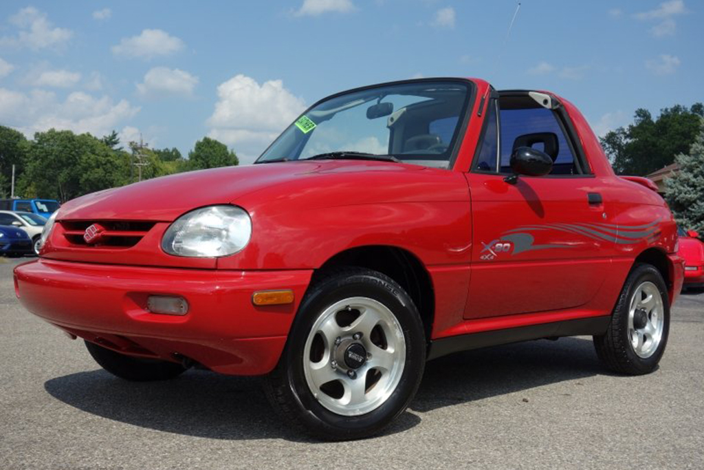 Autotrader Find: Really Nice 1996 Suzuki X-90 featured image large thumb0