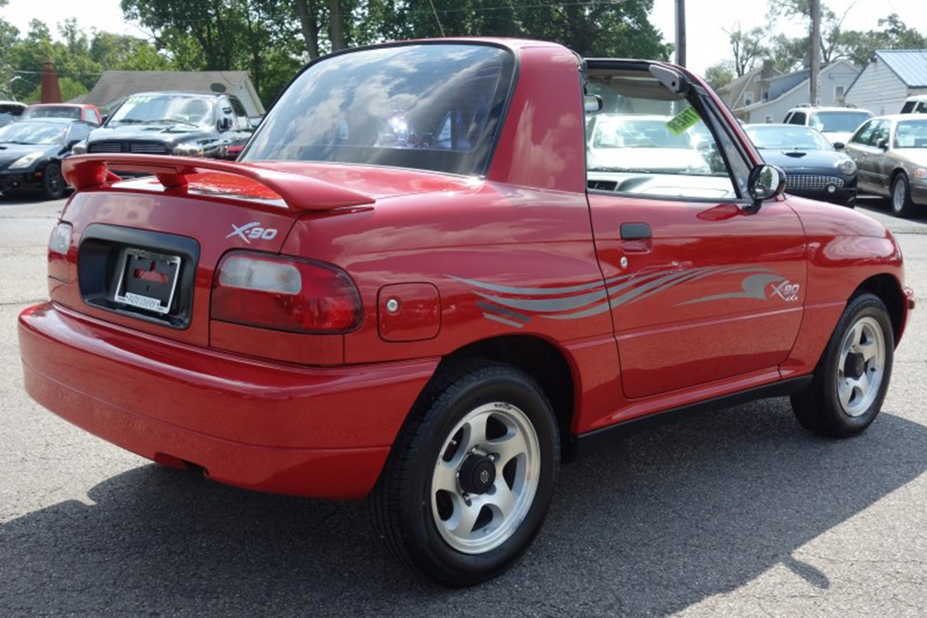 Autotrader Find: Really Nice 1996 Suzuki X-90 featured image large thumb3
