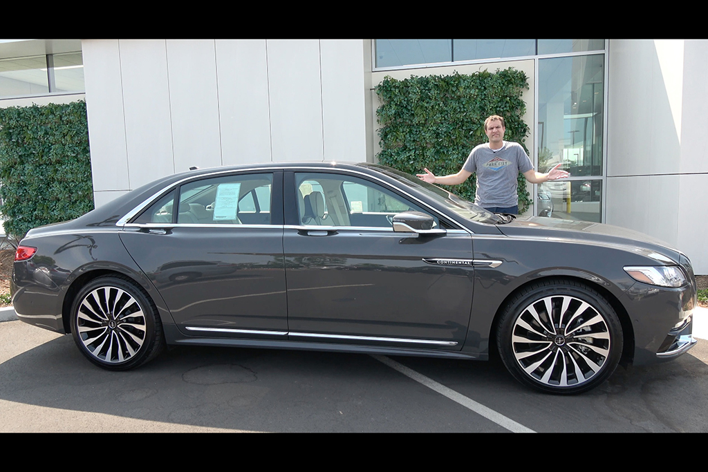 Video | The Lincoln Continental Black Label is an Underrated Luxury Sedan featured image large thumb1