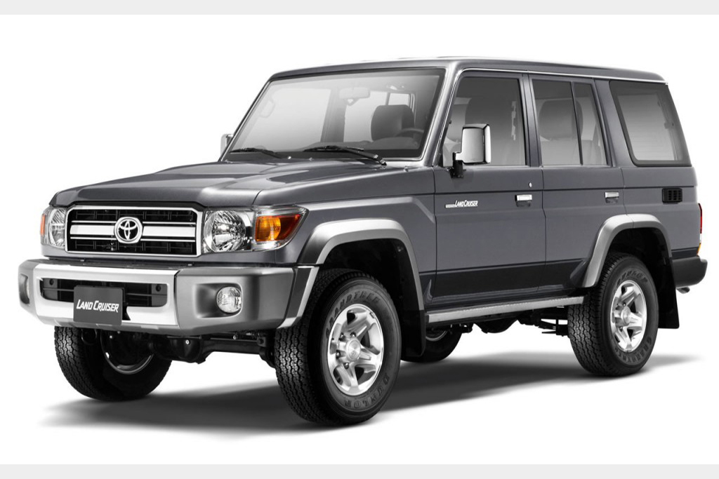 The Toyota Land Cruiser 70 Series is the Forbidden Land Cruiser featured image large thumb0