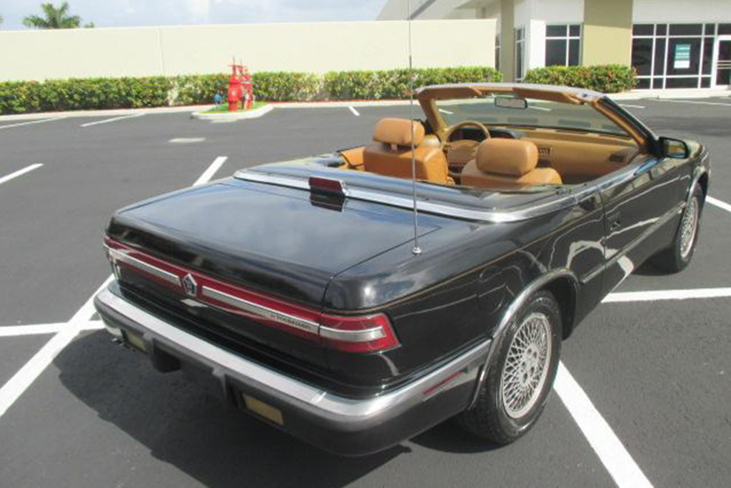 Autotrader Find: Really Nice 1990 Chrysler TC by Maserati featured image large thumb1