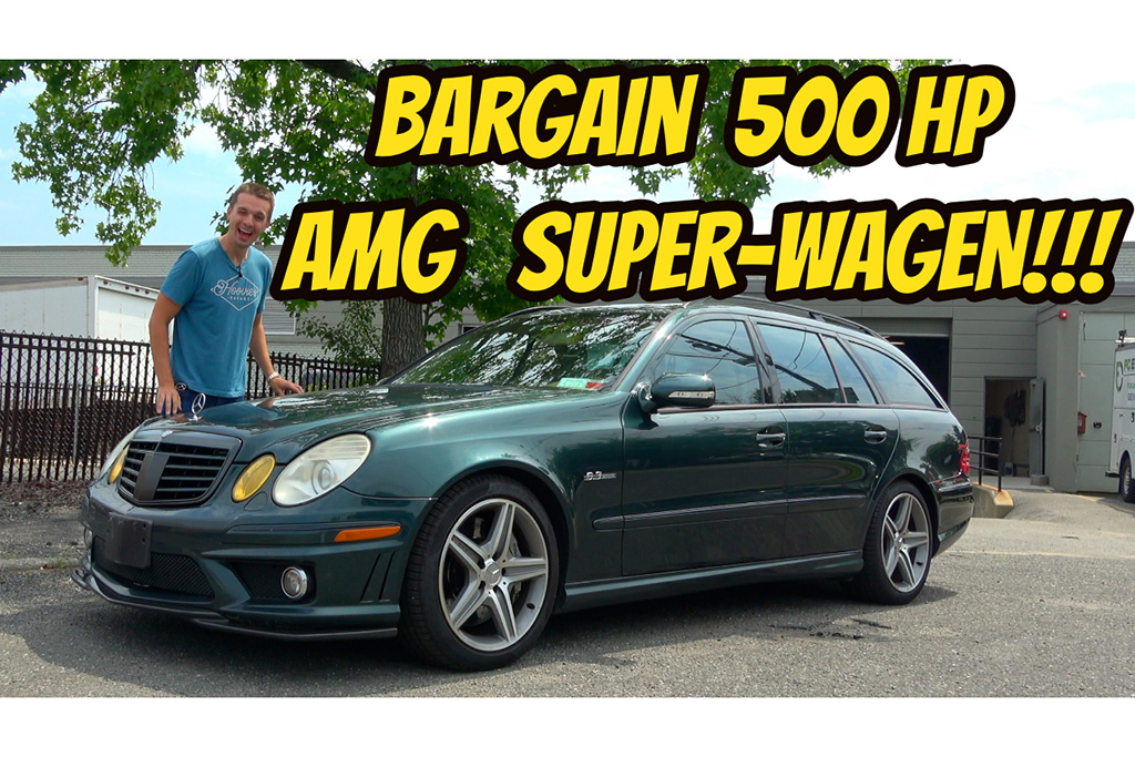 Video  I Bought the Cheapest Mercedes E63 Wagon in the USA featured image large thumb1