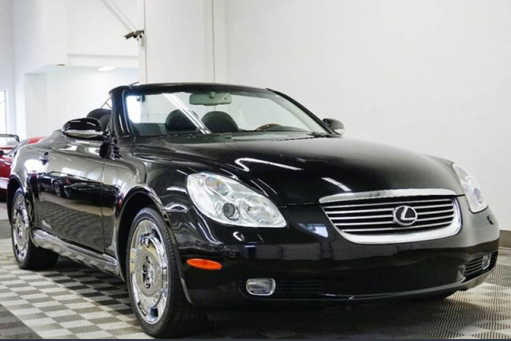Autotrader Find: 2002 Lexus SC430 With 780 Miles featured image large thumb1