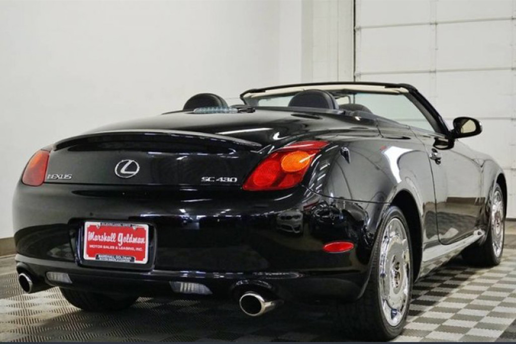Autotrader Find: 2002 Lexus SC430 With 780 Miles featured image large thumb2