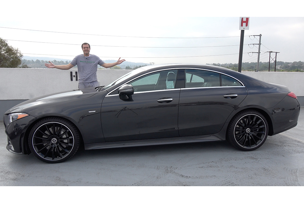 Video   The 2019 Mercedes-Benz CLS Is a Gorgeous Sport Sedan featured image large thumb1