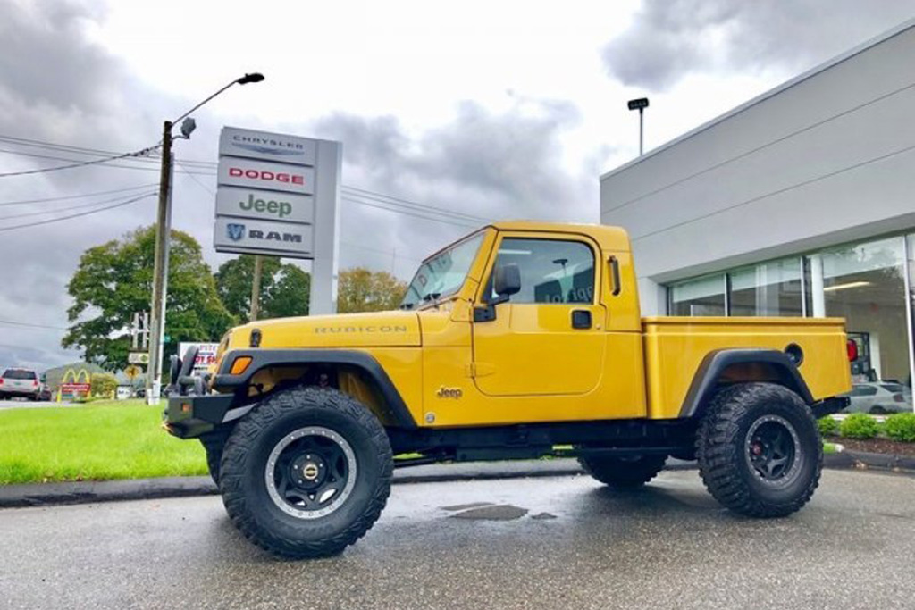 Autotrader Find: 2003 Jeep Wrangler Single-Cab Pickup featured image large thumb0