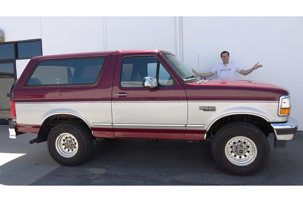 Video The 1996 Ford Bronco Is How Suvs Used To Be Autotrader