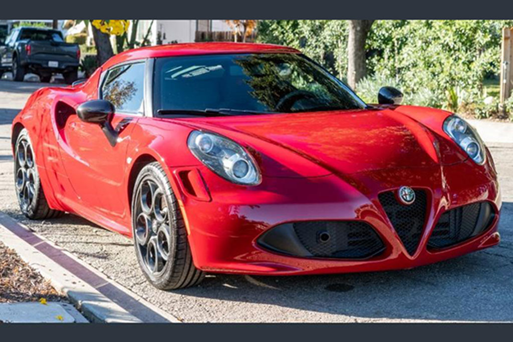 Buy an Alfa Romeo 4C Before People Realize They Are Going for Barely $40,000 featured image large thumb0