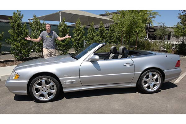 Video | The 2002 Mercedes SL 500 Silver Arrow Is the Last Old-School Mercedes featured image large thumb1