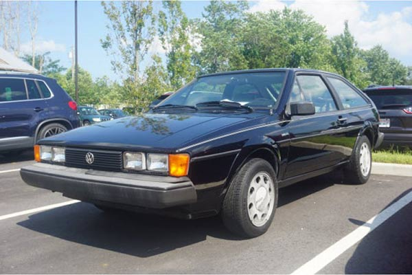 Autotrader Find: 1986 Volkswagen Scirocco With 18,500 Miles featured image large thumb0