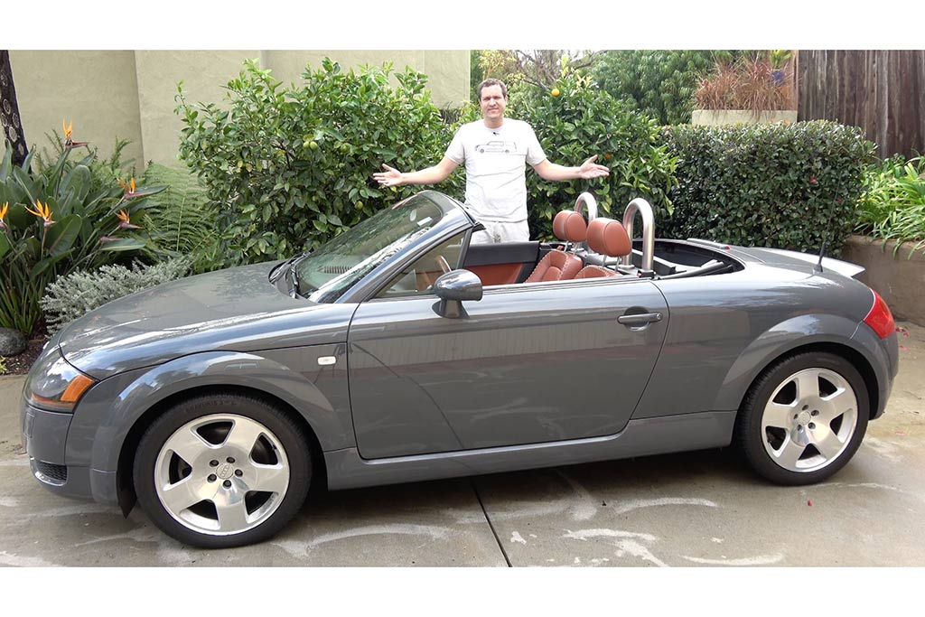 Video | Here's Why the 2001 Audi TT Is a Beautiful, Underrated Sports Car featured image large thumb1