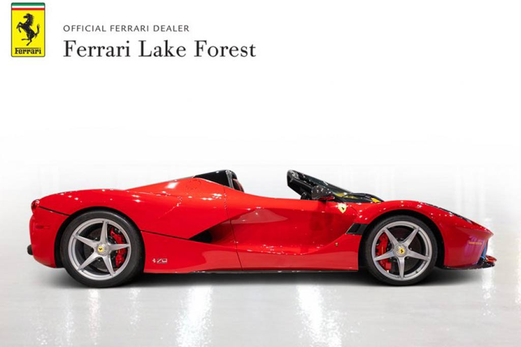 Autotrader Find: LaFerrari Aperta For $5.5 Million featured image large thumb1
