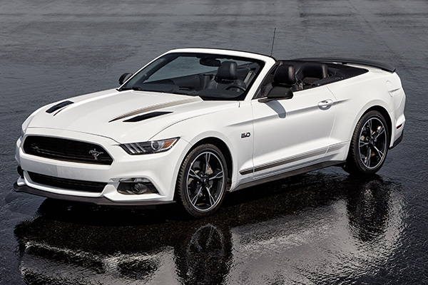 The Ford Mustang GT California Special Now and Over the