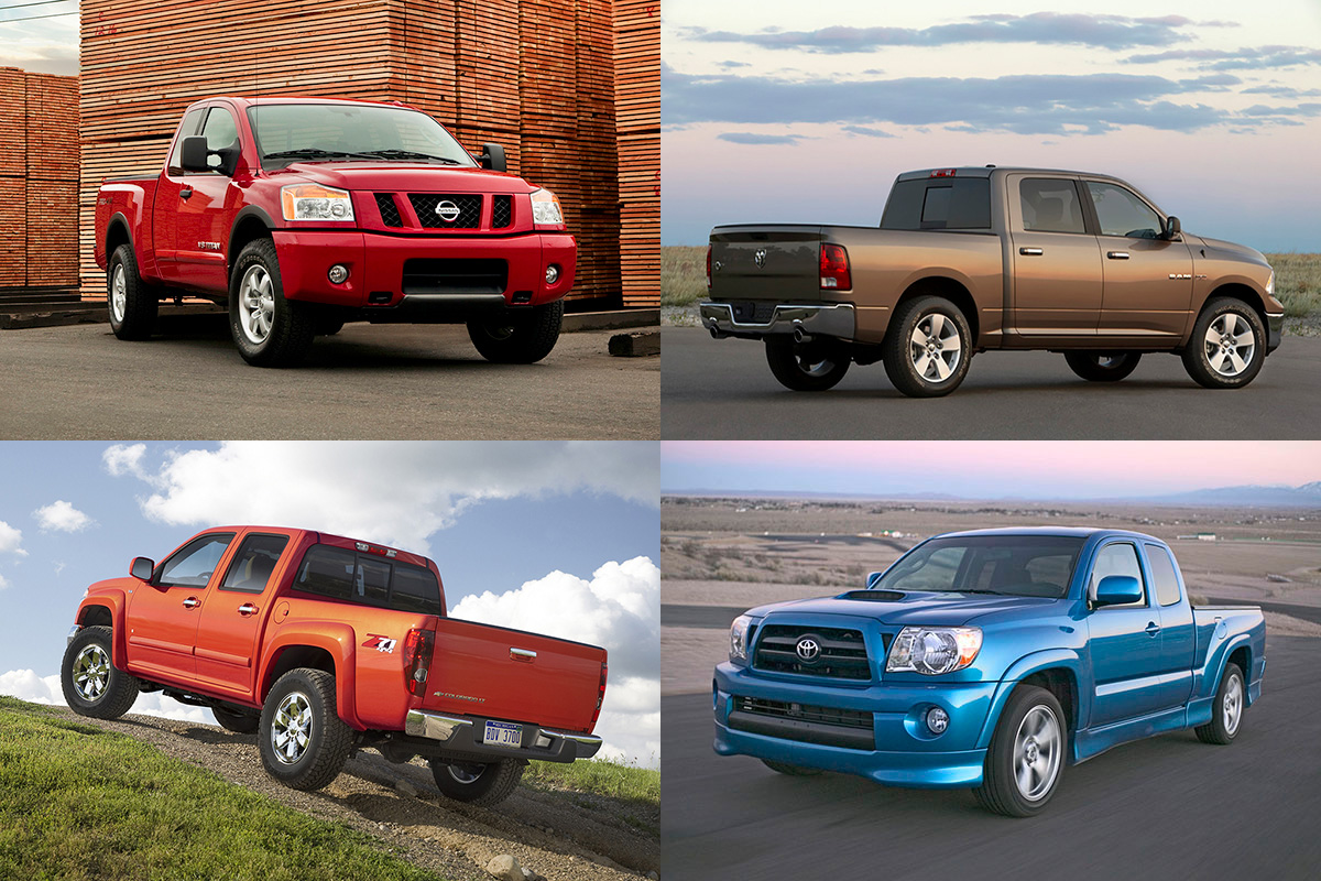 10 best used pickup trucks under 15 000 for 2018 autotrader. Black Bedroom Furniture Sets. Home Design Ideas