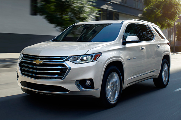 2019 Chevrolet Traverse: New Car Review featured image large thumb2