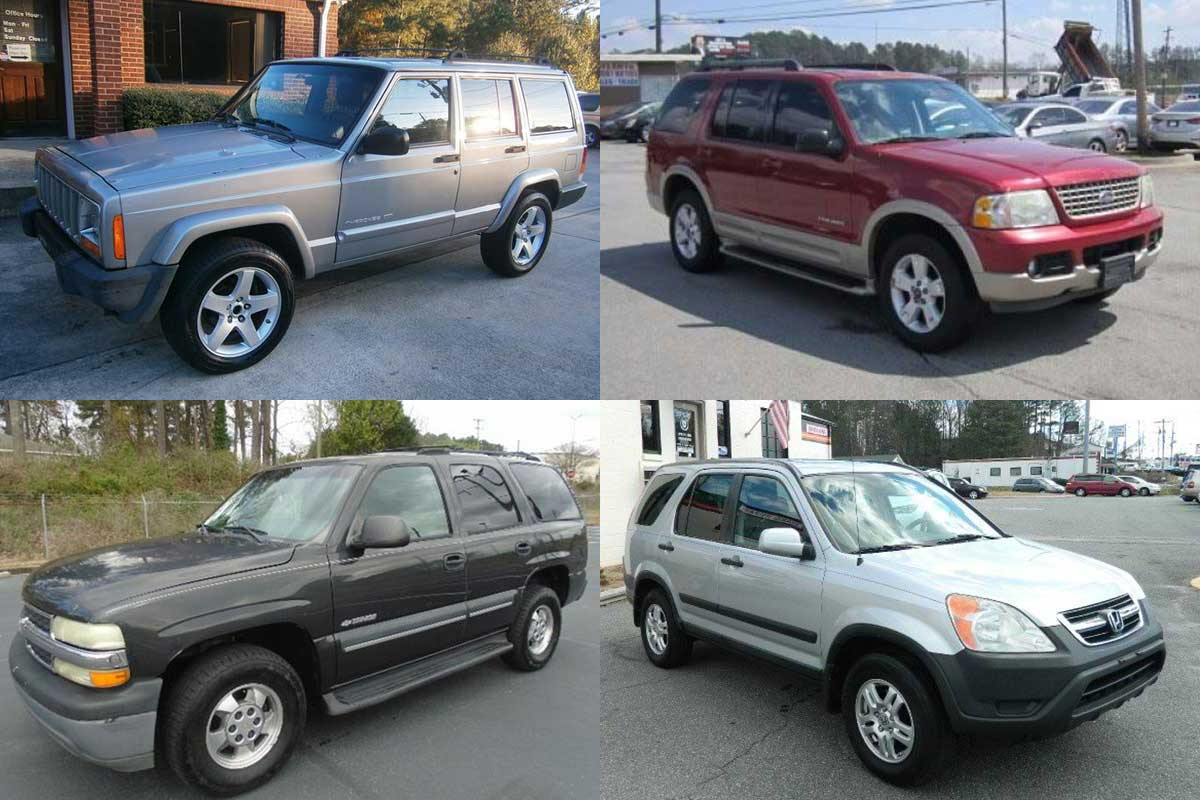 Suv For Sale Under 5000 >> Good Used Suvs Under 5 000 For 2019 Autotrader