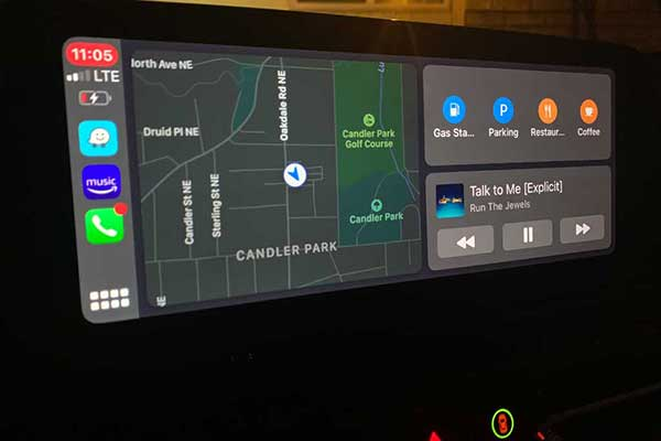 iOS 13 Apple CarPlay