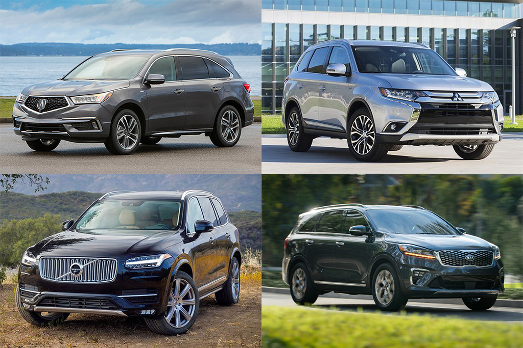 Suv With Third Row >> Top Fuel Efficient Suvs And Minivans With 3 Row Seating For