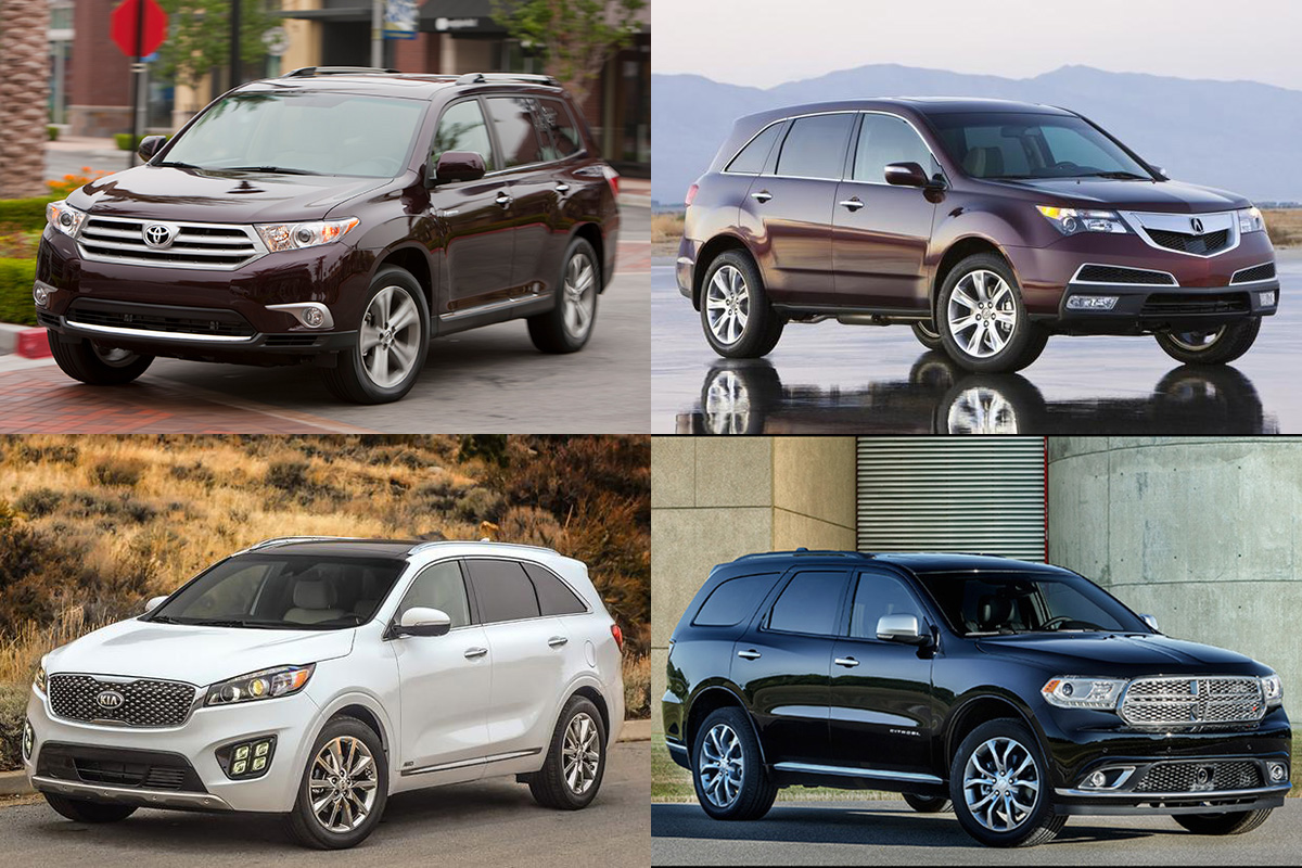 8 Great Used 3-Row SUVs Under $20,000 for 2019 featured image large thumb0