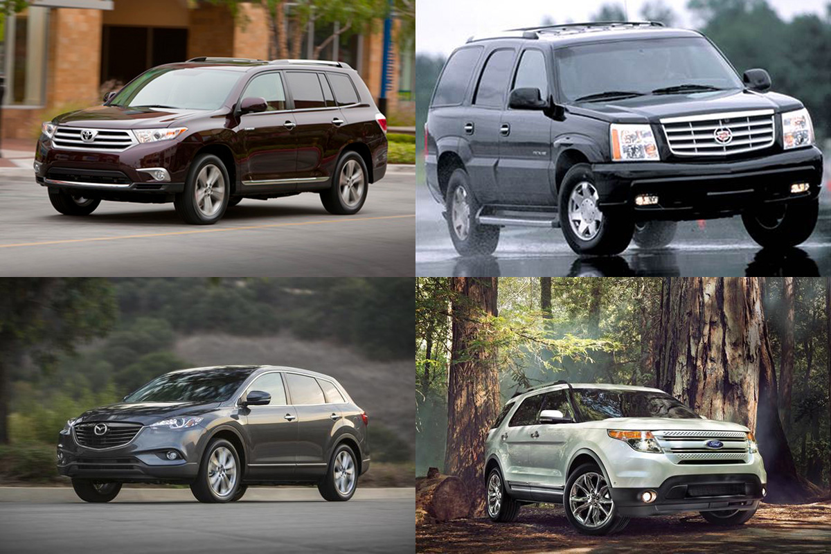 7 Great Used 3-Row SUVs Under $10,000 for 2019 featured image large thumb0