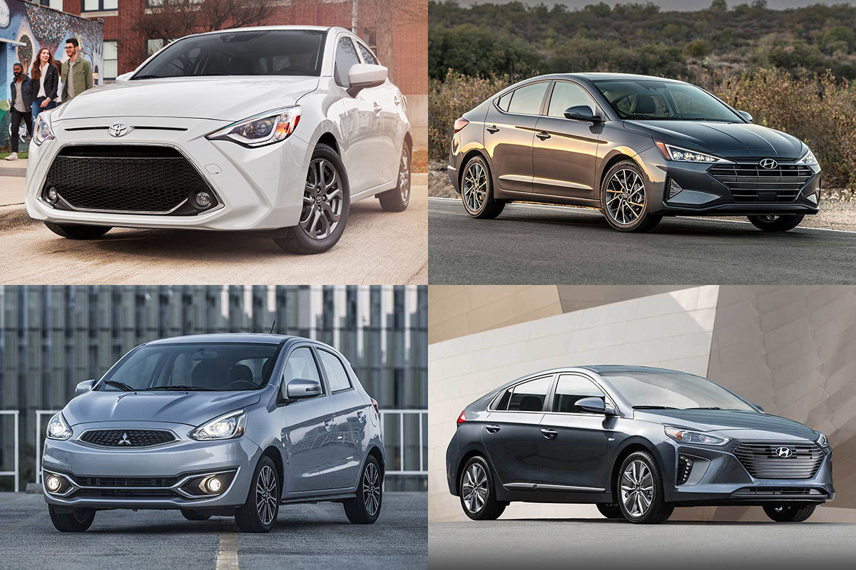 8 Most Affordable New Cars That Get 40 MPG or Better for 2019 featured image large thumb0