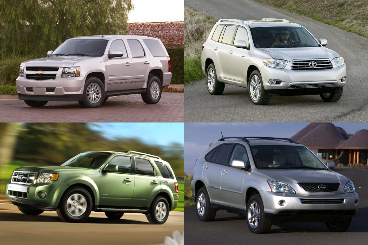 5 Great Used Hybrid SUVs Under $15,000 for 2019 - Autotrader