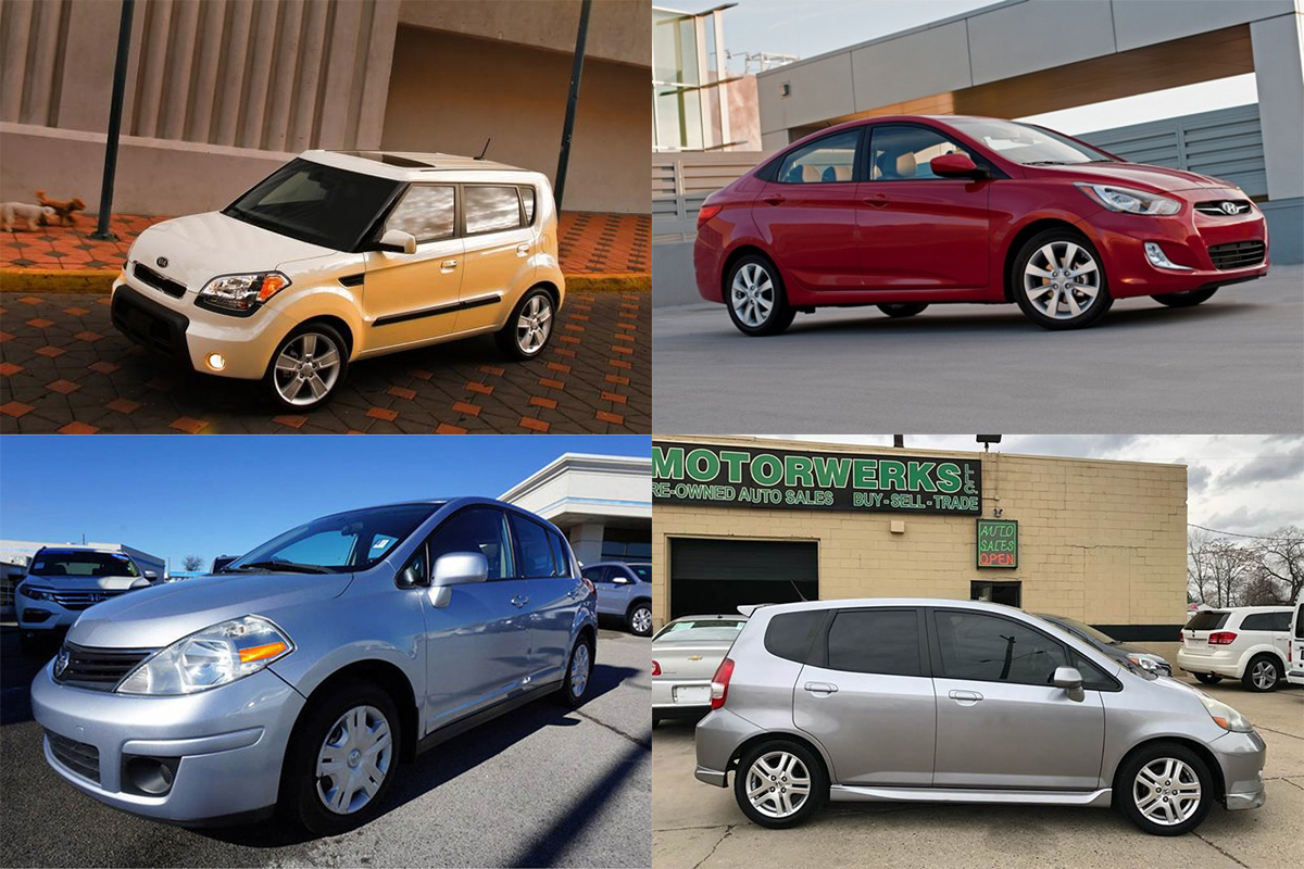 7 Good Used Subcompact Cars Under $5,000 for 2019 featured image large thumb0