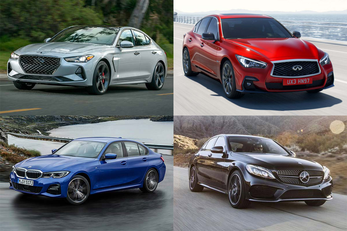 7 of the Fastest New Sedans Under $60,000 for 2019 featured image large thumb0