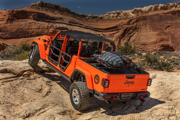 6 Jeep Gladiator-Inspired Concepts Revealed at the 2019 Moab Easter Jeep Safari featured image large thumb4
