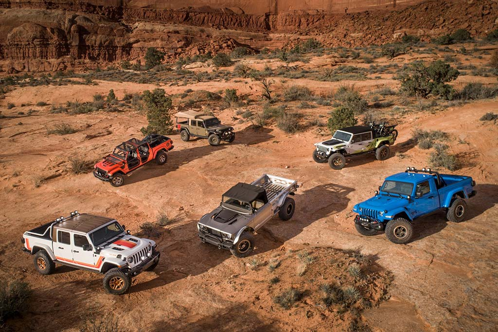 6 Jeep Gladiator Inspired Concepts Revealed At The 2019 Moab