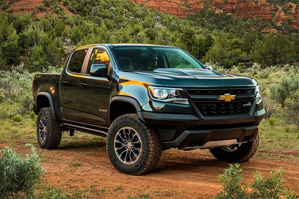 IIHS Top Safety Pick-Rated Midsize Pickups for 2020 featured image large thumb4