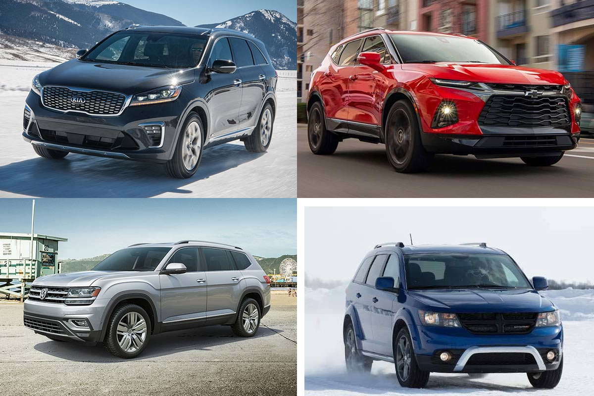 10 Most Affordable Midsize SUVs for 2019 featured image large thumb0