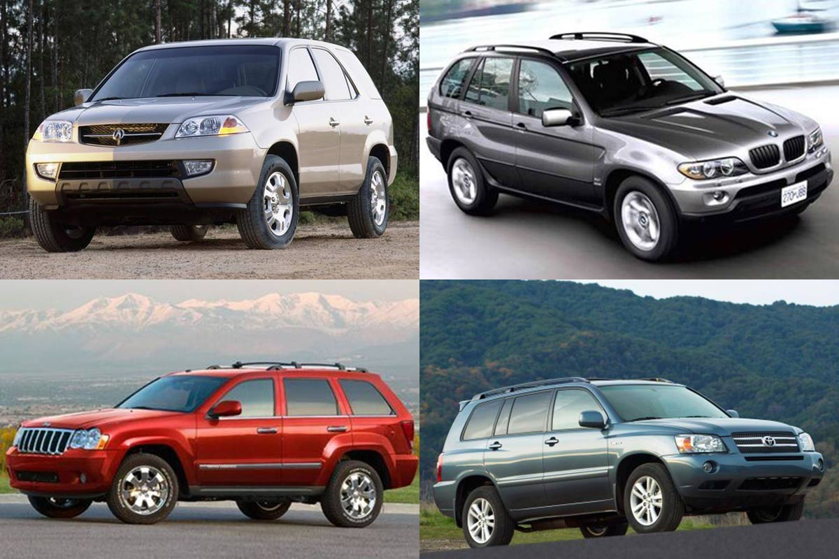 7 Good Used Midsize SUVs Under $5,000 for 2019 featured image large thumb0