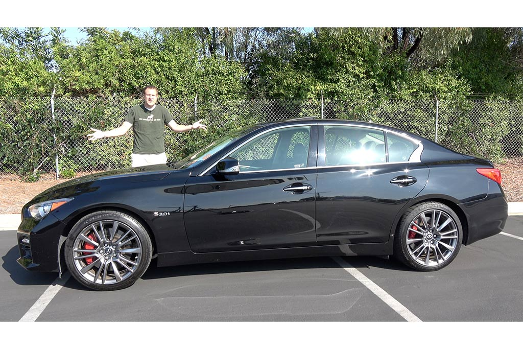 Video | The Infiniti Q50 Red Sport 400 Should Be Better featured image large thumb1