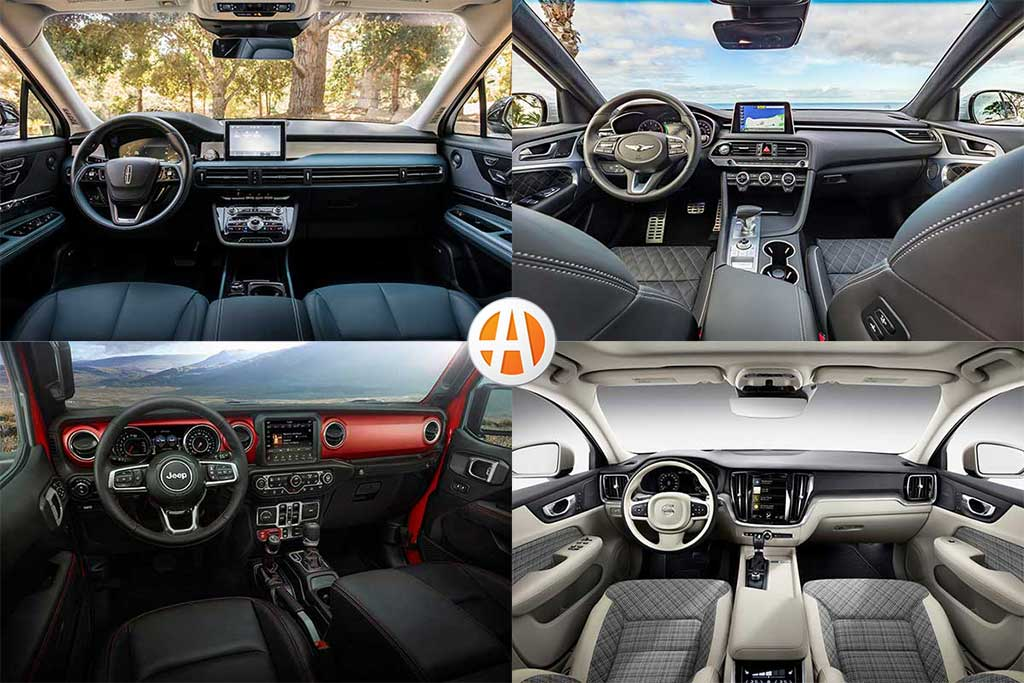 10 Best Car Interiors Under $50,000 for 2020 featured image large thumb0