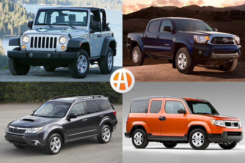5 Adventure Vehicles Under $15,000 That Hold Their Value featured image large thumb0