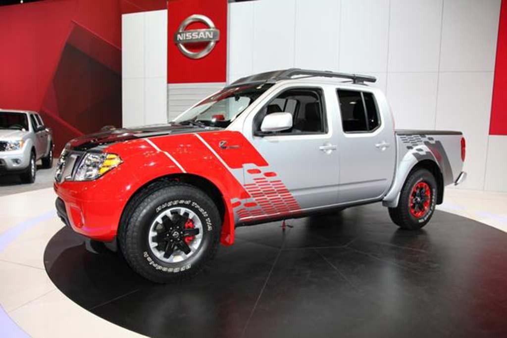 Nissan Frontier Diesel >> Nissan Frontier Diesel Runner Concept Chicago Auto Show