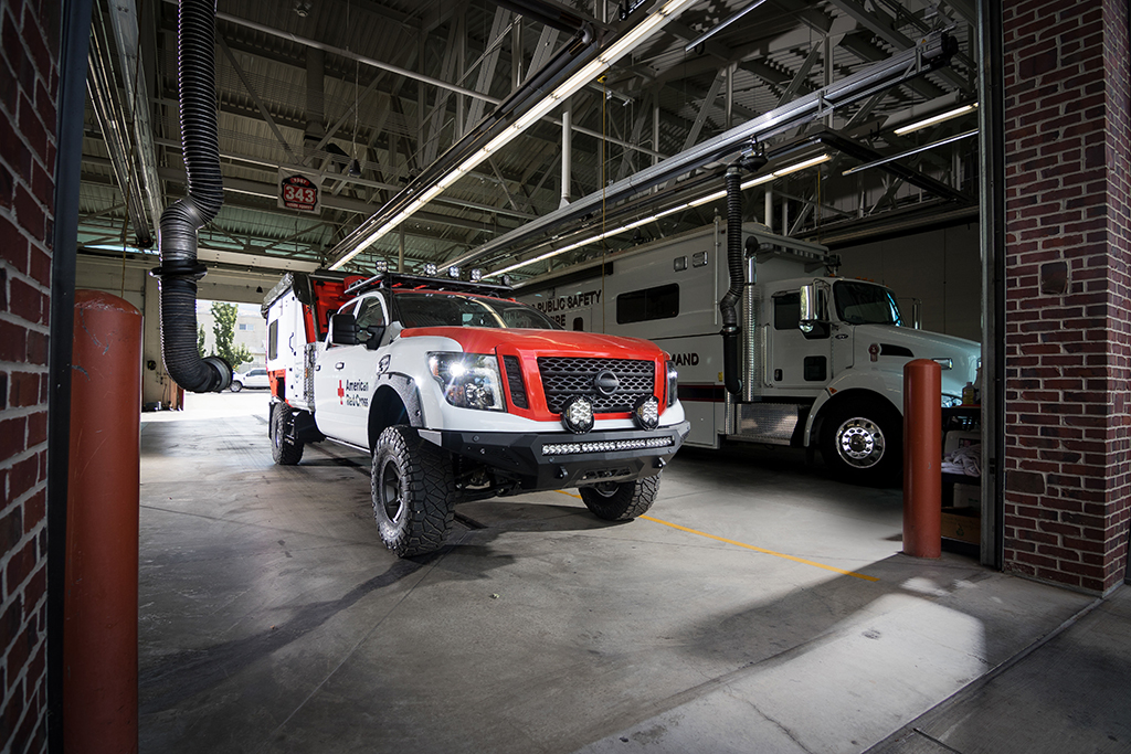 2018 Nissan Titan: Nissan Donates a Purpose-Built Titan to American Red Cross featured image large thumb2