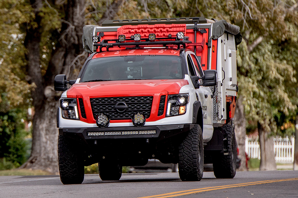 2018 Nissan Titan: Nissan Donates a Purpose-Built Titan to American Red Cross featured image large thumb0