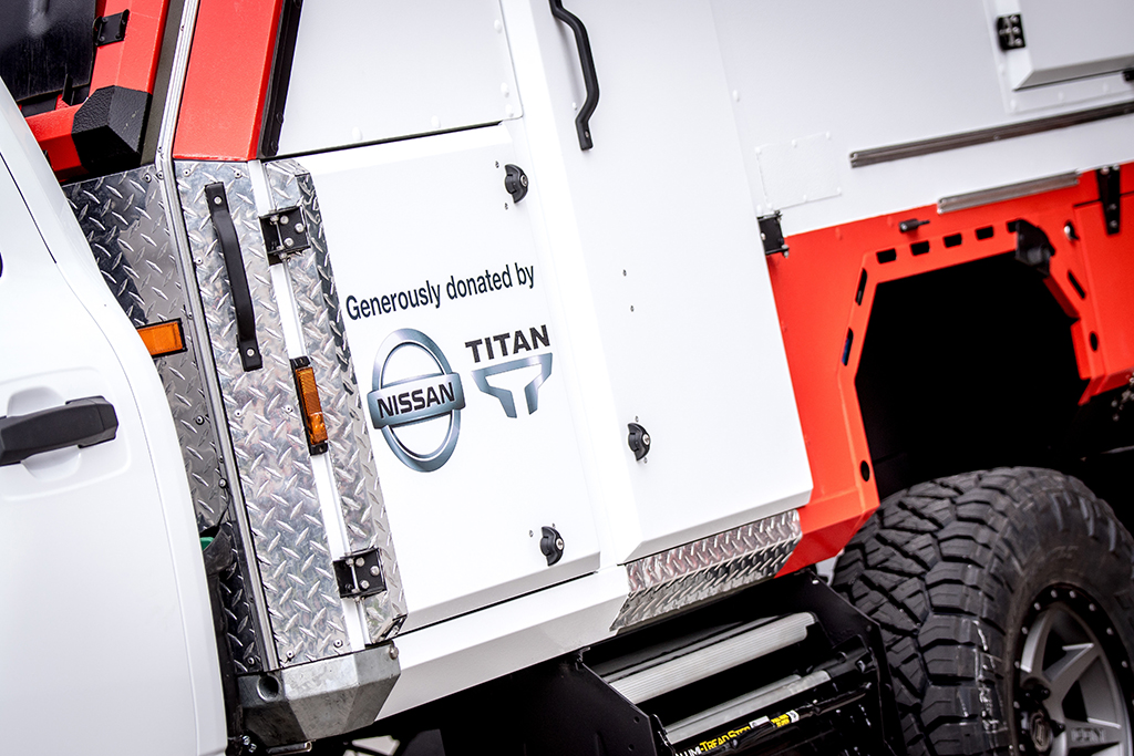 2018 Nissan Titan: Nissan Donates a Purpose-Built Titan to American Red Cross featured image large thumb5